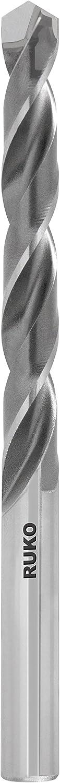 2,5 mm 2,50 mm Ruko 815025 Broca helicoidal DiN 338 tipo N con plaquita de corte de metal duro soldada