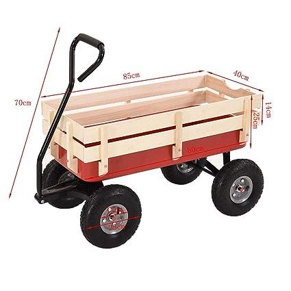 Carro de Transporte para niños con Ruedas de 25,4 cm de Ancho, para