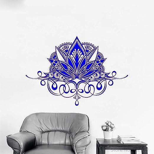xingbuxin Tatuajes de Pared Namaste Bohemian Mandala Lotus Flower ...
