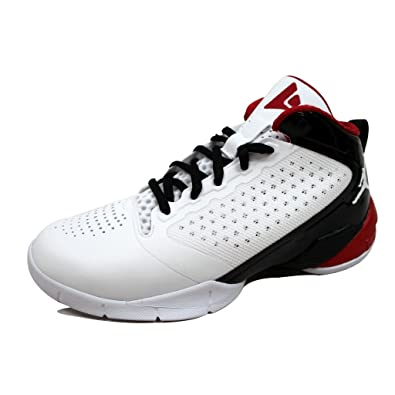 794e1740080 Nike Grade-School Air Jordan Fly Wade 2 White Varsity Red-Black 487600