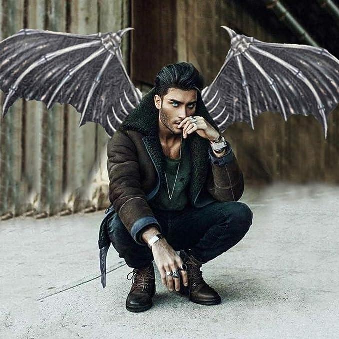 Fescra Halloween Mardi Gras Cosplay Demon Bone Wings