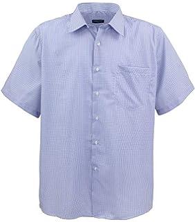 Herren Hemden 3xl 7xl  langarm Lavecchia klassische Hemden Übergröße schwarz