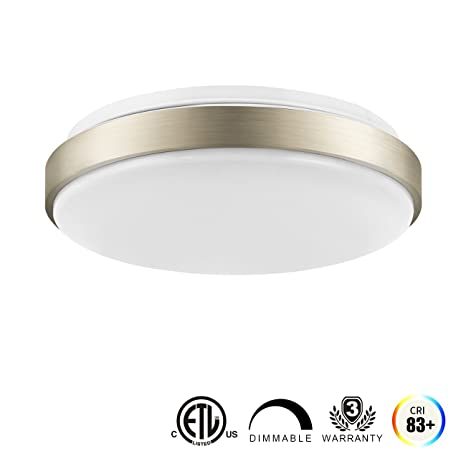 Lvwit led ceiling light 11 inch 14w 100w equivalent dimmable 1000 lvwit led ceiling light 11 inch 14w 100w equivalent dimmable 1000 lumens round flush aloadofball Choice Image