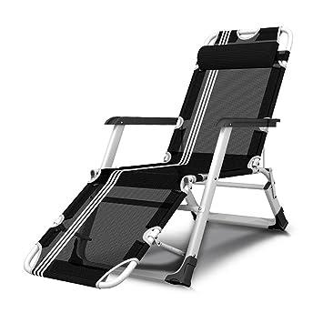 YANFEI Chaise Longue Pliante Siesta Lit