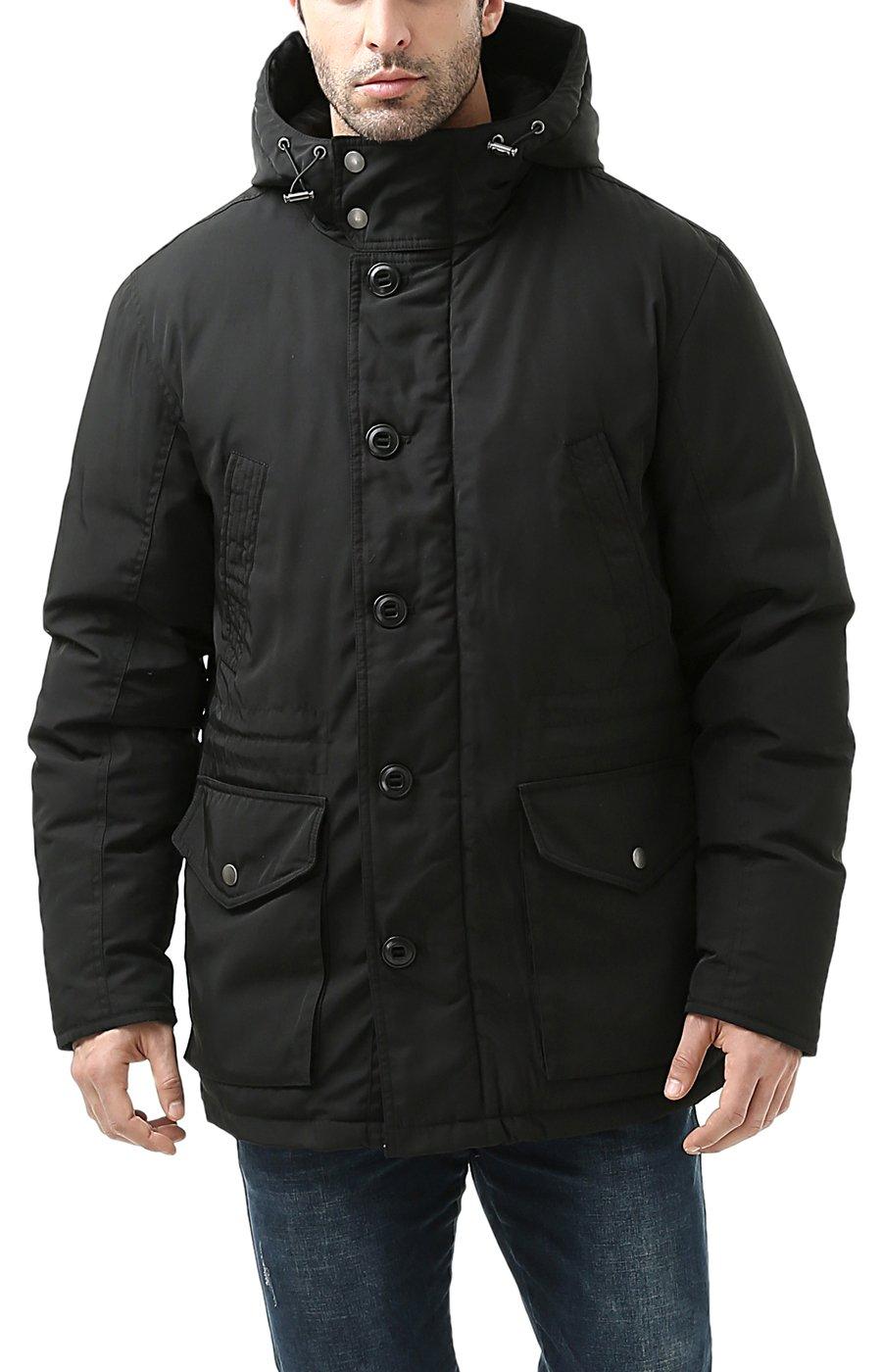 26336dea1a58 BGSD Men s Tommy Hooded Waterproof Down Parka Coat