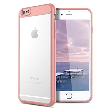 VemMore Funda iPhone 6s Rígido, Carcasa iPhone 6 Transparente Clear Ultra Fina Slim, 360 Grados Protección Antigolpes Anti-Rasguño Protectora, Duro PC ...