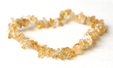 Reiki Energy Charged Citrine Crystal Chip Bracelet (Beautifully Gift Wrapped) utgUQTjDWI
