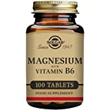 Solgar Magnesium with Vitamin B6 Tablets, Pack of 100