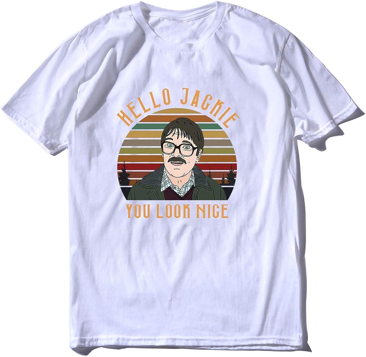 Hello Jackie You Look Nice Friday Night Dinner - Camiseta para mujer: Amazon.es: Ropa y accesorios