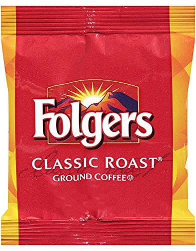 Folgers Classic Roast Ground Coffee, 1.5 Ounce (Pack of 42)