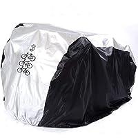 FuCNEN Fietshoes, waterdicht, draagbaar, licht, voor 2 tot 3 fietsen, buiten- en binnenopslag, robuust, stof, regen, uv…