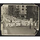 Photo: Silent Protest Parade,New York City,1917,East St. Louis Riots,Civil Rights