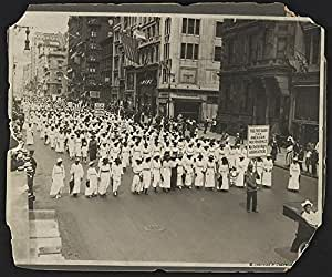 Silent protest parade