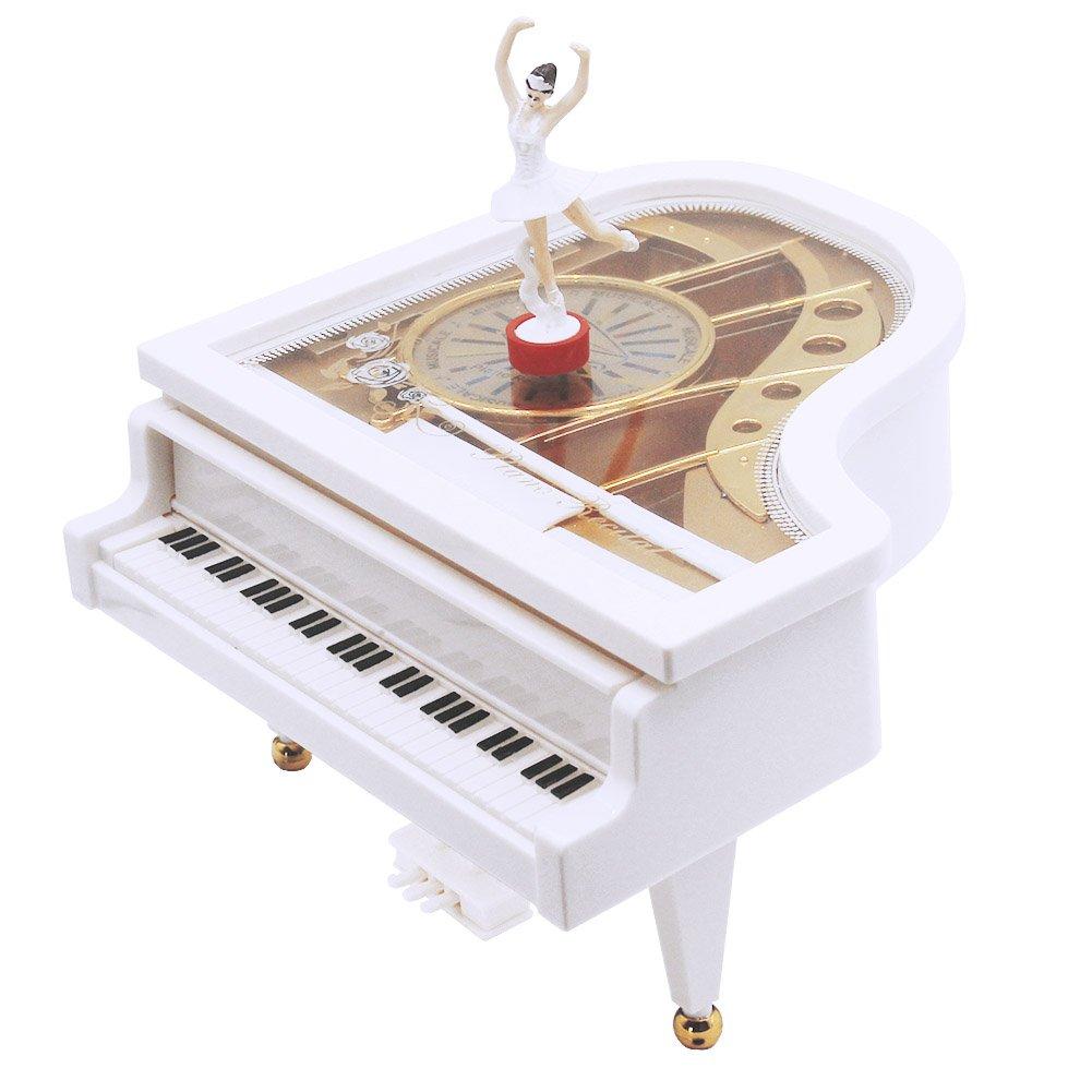 本店は アベソンオルゴール、クラシックグランドピアノ形状メカニズムバレリーナガールダンス子供誕生日クリスマスギフト玩具、メロディキャッスルインザスカイ B0744J5N9G, 環境管理システム:b3da1b1b --- arcego.dominiotemporario.com