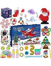 Fidget Advent Calendar 2021 Toy Pack Christmas Advent Calendar Fidget Toy Pack Stress Relief Fidget Box Party Favor