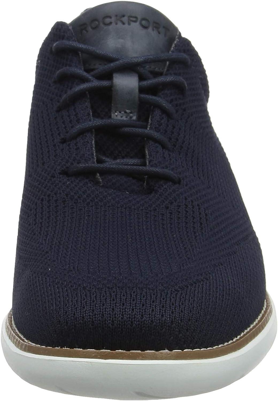 Zapatos de Cordones Derby para Hombre Rockport Garett Mesh Lace Up