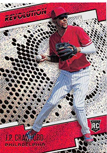 (2018 Panini Chronicles Revolution Rapture #11 J.P. Crawford Philadelphia Phillies Blaster Exclusive Trading Card)