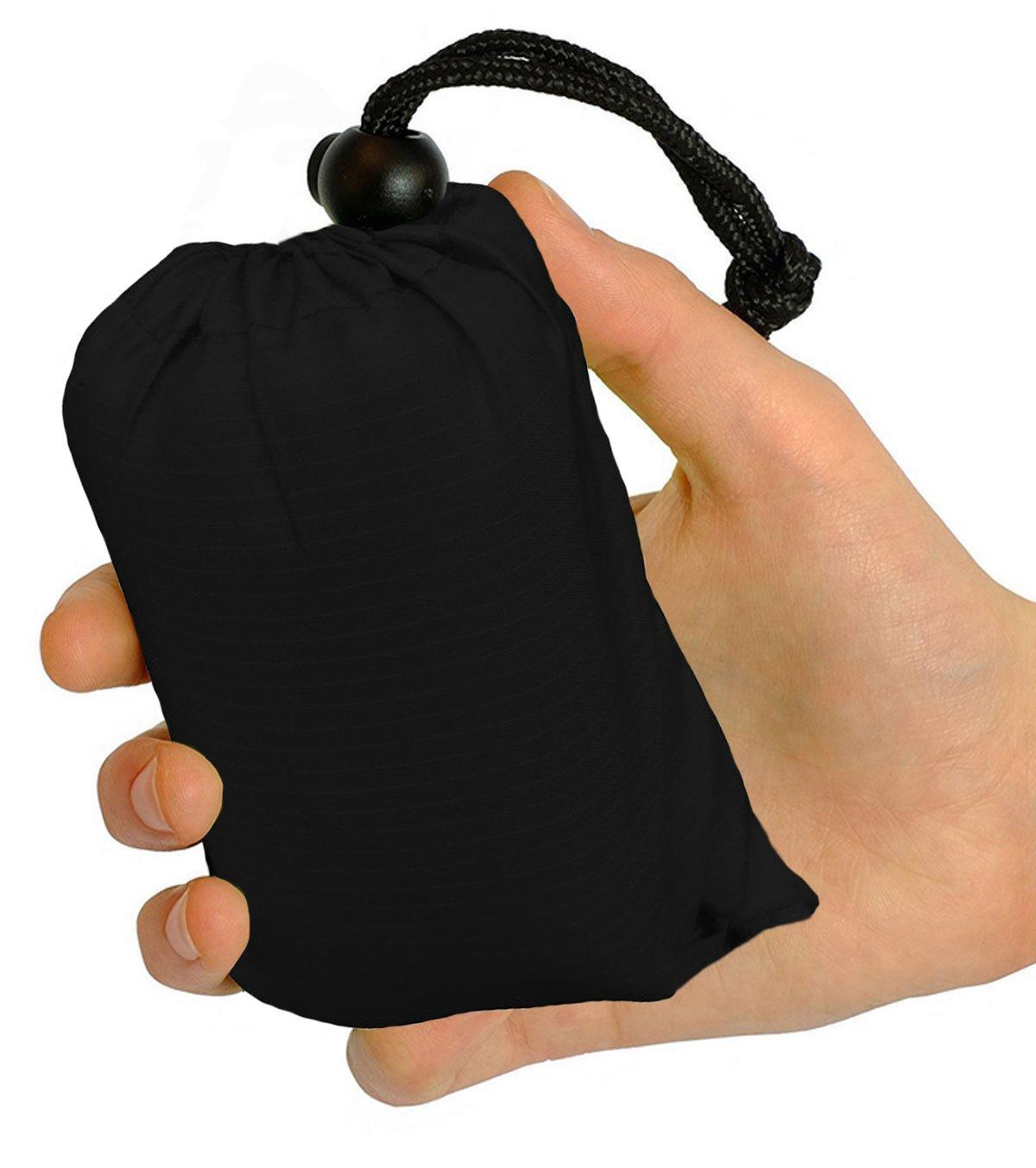 biaozhi tamaño de bolsillo resistente al agua manta de Picnic manta de camping ligero, bolsillo para al aire libre Camping, viaje, senderismo, Picnic, rojo