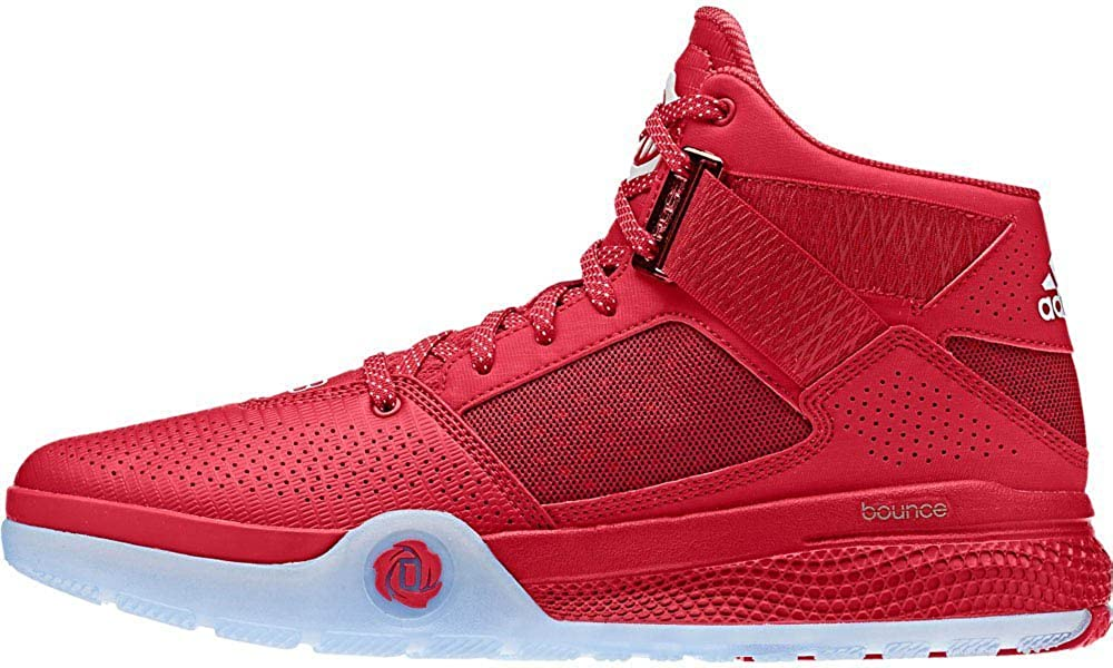 db1006ccef8 Adidas D Rose 773 IV Mens Basketball Shoe scarlet black white 10.5 D(M) US  Buy  Online at Low Prices in India - Amazon.in