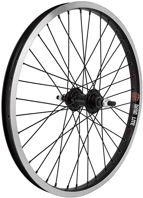 WM Wheels  20x1.75 406x22 Sun Rhyno Lite Bk 36 Bp Ff Seal 3//8 Bk 110mm Ss2.0bk