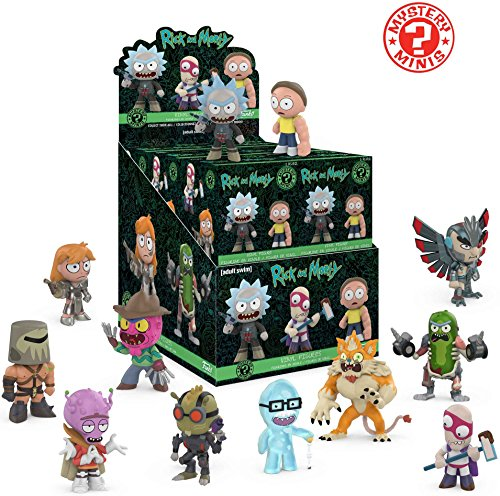 Funko Mystery Mini: Rick and Morty Series 2 Display Box of 12 Action ()