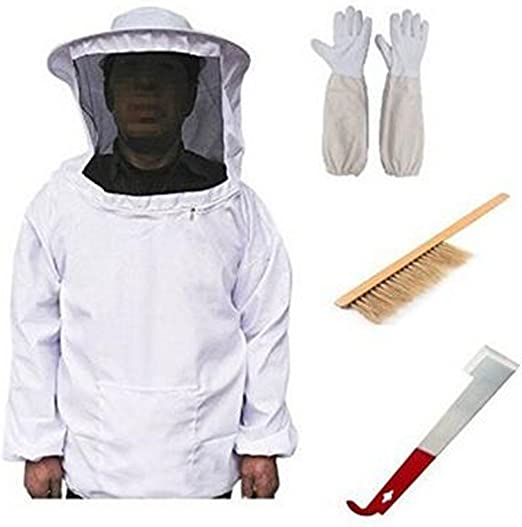 Traje de apicultura Traje de chaqueta Traje de protección abeja ...