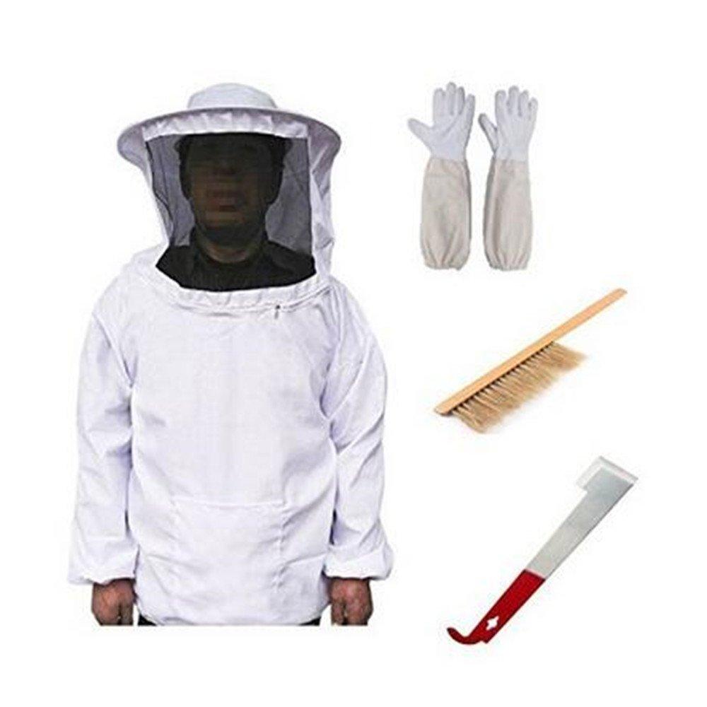 Amazon.com: chamarra de la apicultura Suit para Pull Over ...