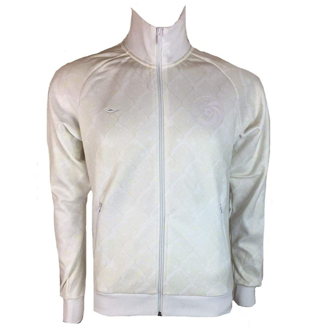 Umbro New York Cosmos Mens Taped Track Jacket Retro Football White