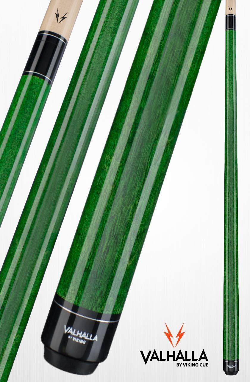 Viking Valhalla 2 Piece Pool Cue Stick VA105 (21oz, Green)