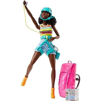 Barbie Camping Fun AA African American Hiker: Toys & Games