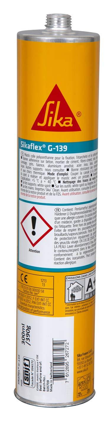 Sikaflex G 139 Mastic Colle à Prise Rapide 300ml Blanc