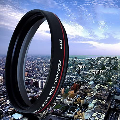 gazechimp ZOMEI 72MM 0.45X Wide Angle Filter Camera Lens Optical Glass Wide Converter