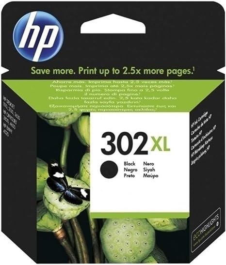HP Pack de Ahorro de 2 Cartuchos de Tinta HP 302 XL Negro: Amazon.es: Informática