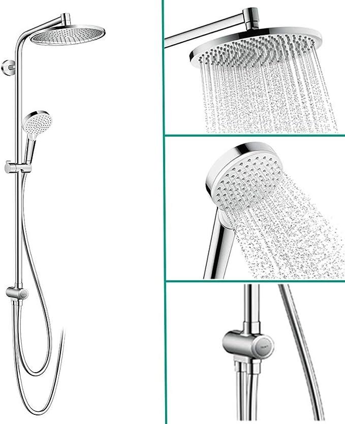 Hansgrohe 27270000 Crometta S 240 columna de ducha para ...