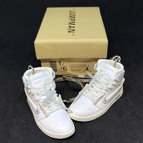 timeless design a95cd 66441 Amazon.com: Pair Air Jordan 1 I High Retro Off White NRG ...