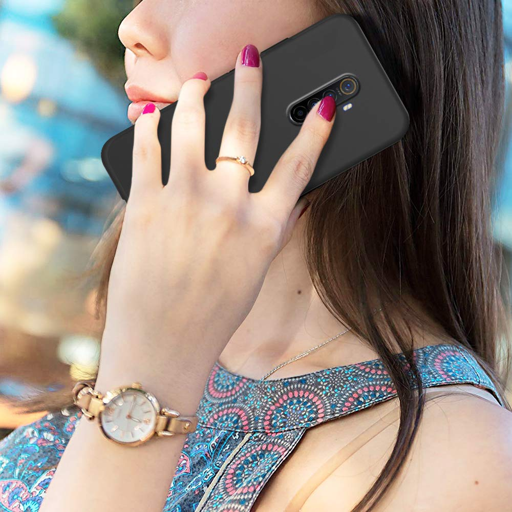 E-Lush Funda Realme X2 Pro Caso Ultra Delgado Flexible Gel TPU Goma Case Cover Anti-Ara/ñazos Protector Color 3 3 x Funda para OPPO Realme X2 Pro Carcasa Suave Silicona