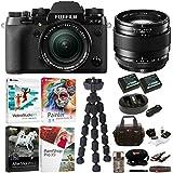 Fujifilm X-T2 Mirrorless Digital Camera with 18-55mm and 23mm Lens Bundle