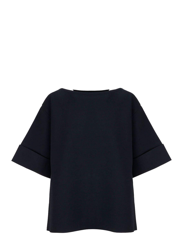 Brand Size 42 STELLA MCCARTNEY Women's 545889S19614101 Black Viscose TShirt