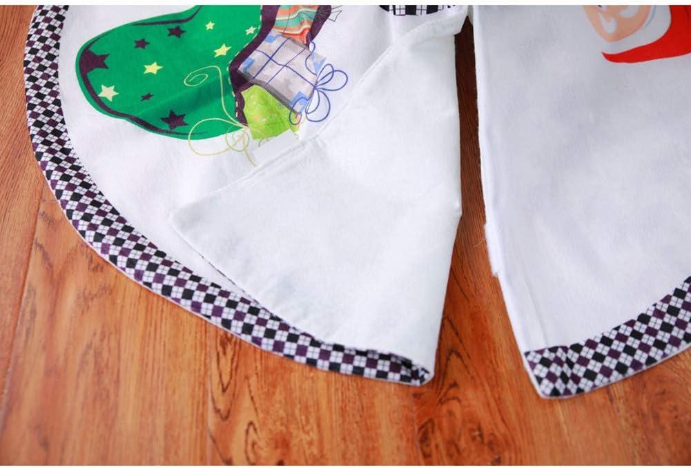 Style2 Queta Jupe de Sapin de No/ël Tapis de Sapin D/écoration d/'Arbre de No/ël Couvre Pied Sapin No/ël