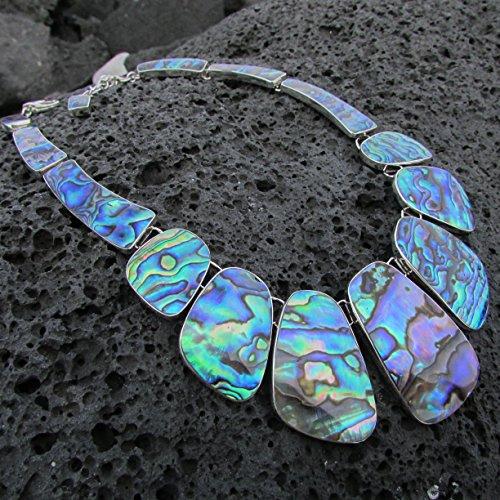 Abalone Paua Shell Necklace Collar