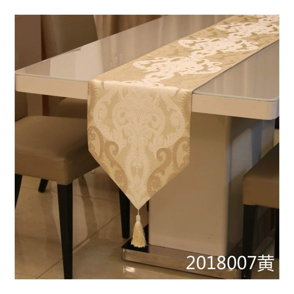 JUNYZZQ Gesticktes Tischflagge Europäischen Stil Tisch Couchtisch Betttuch Weichen Tuch