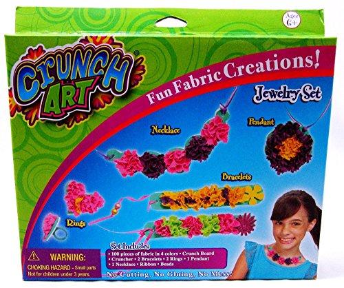 Little Kids Crunch Art Jewelry Set