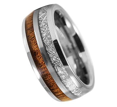 Wood Wedding Bands.Urban Designer 8mm Deer Antler Inlay Wood Inlay Tungsten Carbine Wedding Bands Mens Wood Wedding Band Tungsten Mens Tungsten Wedding Band