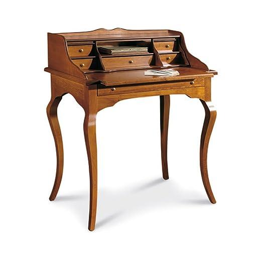 3 opinioni per Scrittoio, stile classico, in legno massello e mdf con rifinitura in noce