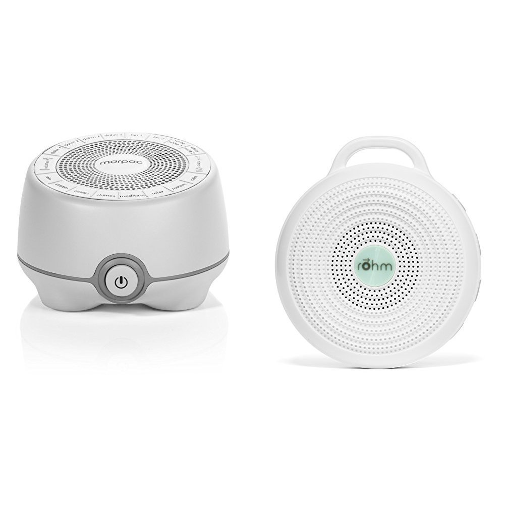 Marpac All-Natural White Noise Sound Machine Home and Away Bundle , Whish