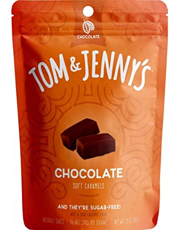 Tom & Jennys Sugar Free Soft Caramels - May Support Your Keto Diet - Sweetened with