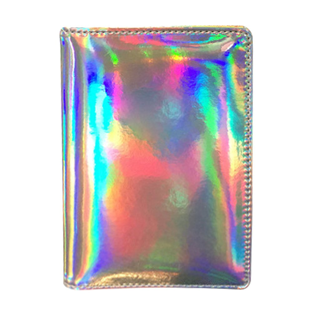 Naovio Passport Holder Hologram Driver License Case Credit Card Wallet Golden 10461777