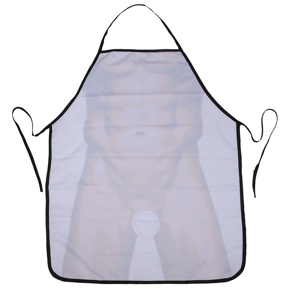 White apron amazon.ca - Novelty Funny Apron Sexy Naked Muscle Men Cotton Fun Party Kitchen Gag Gift Amazon Ca Home Kitchen