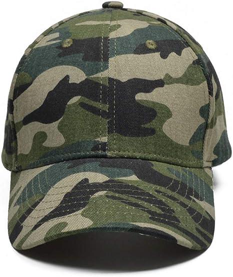 SYQY Gorra de Beisbol Gorra de Camuflaje para Hombres de la Marca de fábrica algodón para Hombre Sombreros y Gorras Jungle Camo Tactical Cap,C1: Amazon.es: Deportes y aire libre