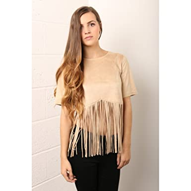 Fringe Crop Top